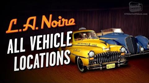 LA Noire Remaster - All Vehicle Locations Auto Fanatic Trophy Achievement