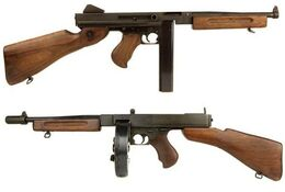 La-Thompson-M1928A1-et-M1A1