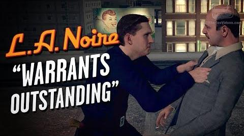 LA Noire Remaster - Case 3 - Warrants Outstanding
