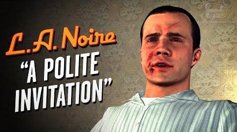 LA Noire Remaster - Case 24 - A Polite Invitation (5 Stars)
