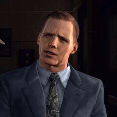 Gordon Leary, capitaine de la brigade de la circulation.