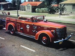 American La France-Feuerwehrauto