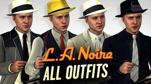 LA Noire Remaster - All Outfits