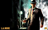 L.A. Noire original artwoork - Cole Phelps