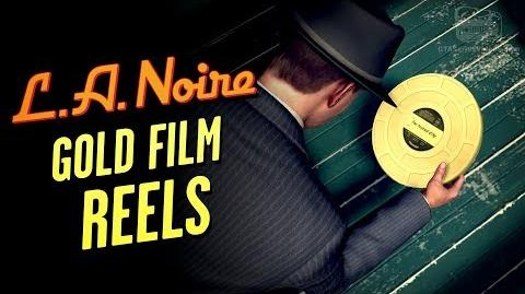 LA Noire Remaster - All Gold Film Reels Hollywoodland Trophy Achievement
