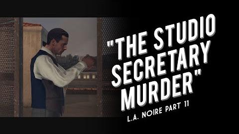 L.A. Noire Part 11 - The Studio Secretary Murder