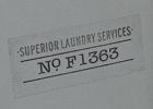 Whiteshoeslaying laundry label