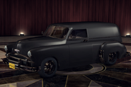 ChevyCivilianVan Black