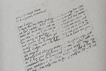 StudioSecretaryMurder upper half of torn letter