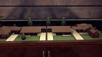 4-Rancho Escondido house models at Monroe's Office