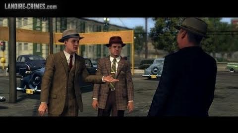 LA Noire - Walkthrough - Bonus Mission 1 - A Slip of the Tongue (5 Star)
