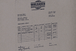 Houseofsticks cement delivery receipt