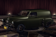 ChevyCivilianVan Green