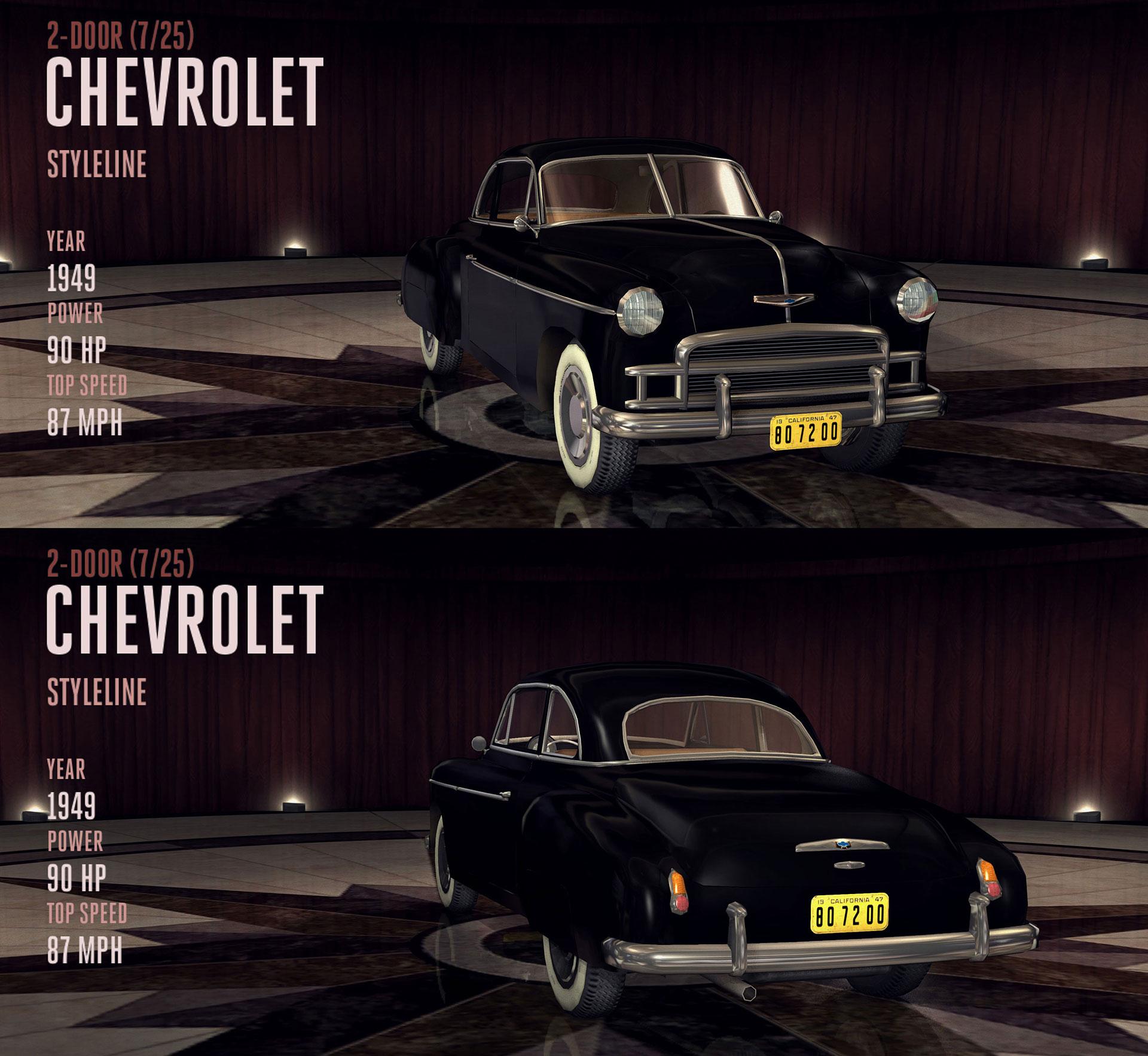 Chevrolet Styleline L A Noire Wiki Fandom Powered By Wikia