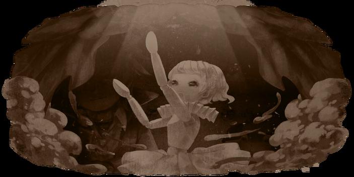 Broken marionette 1