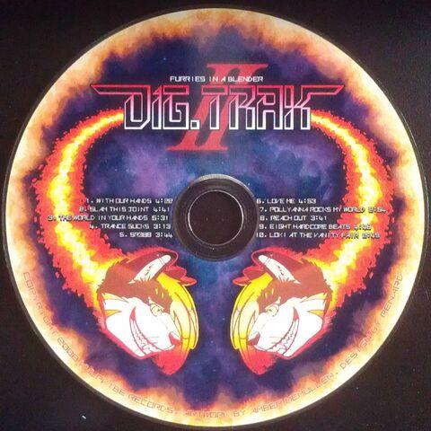 Disc artwork