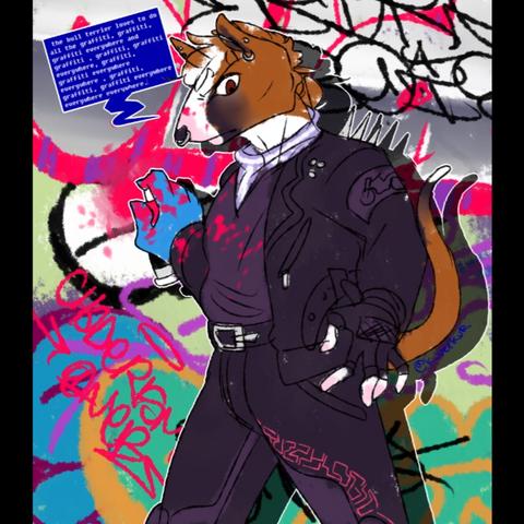 artwork of Chadney by @k_veikur