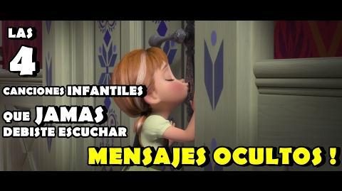 Las 4 canciones ``INFANTILES '' que JAMAS NADIE DEBIO HABER ESCUCHADO