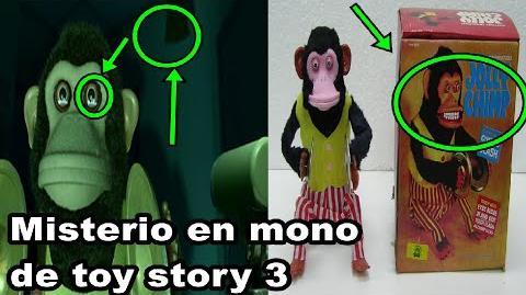 El misterio detras del Mono toca platillos de Toy story 3.