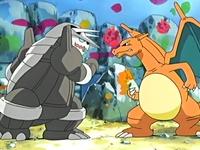 Aggron y Charizard