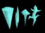Meteorite artefacts
