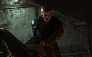 Nikolai With Minigun