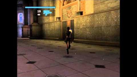 PS2 Tomb Raider Legend, January 2006 Demo - Test Levels