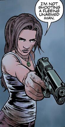 Lara spares guard
