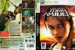 Tomb Raider Legend X360 FRENCH PAL COVER