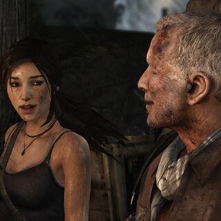 Lara con Roth