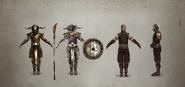 Stormguard Armor Variations Concept