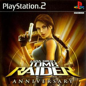 Tomb Raider Anniversary Artwork Lara Croft Wiki Fandom