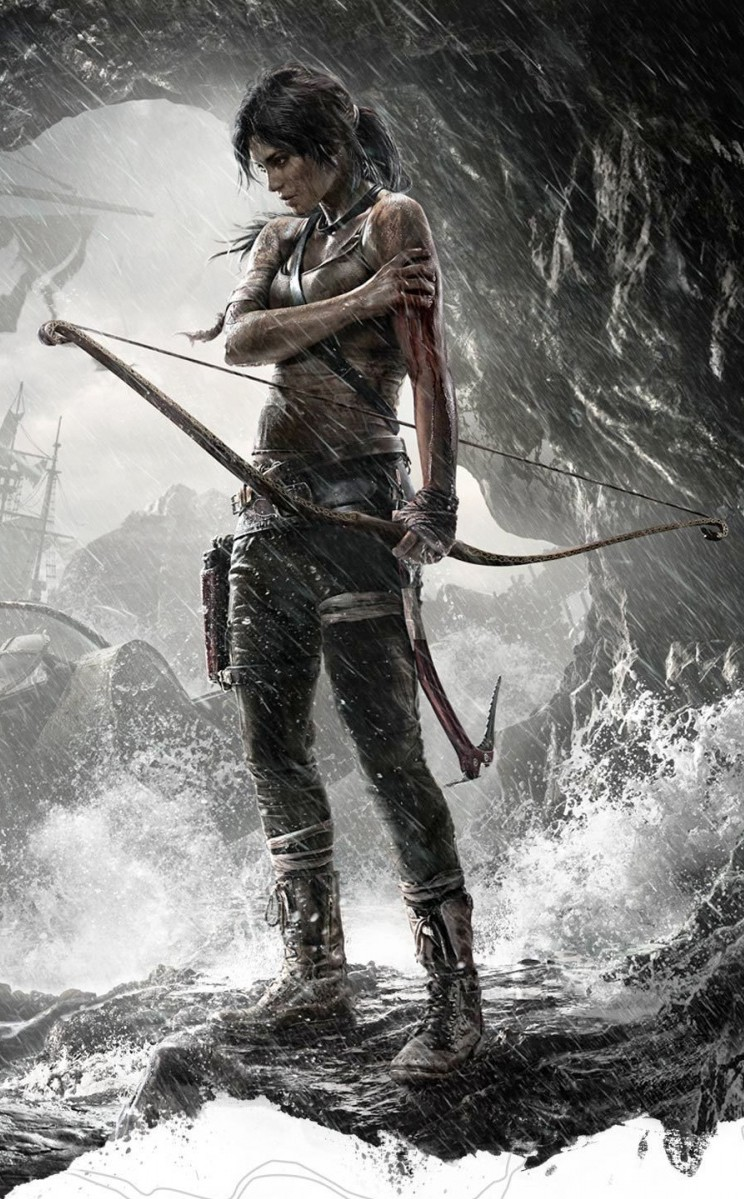 tomb raider 2013 gameartwork lara croft wiki fandom