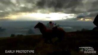 Tomb Raider Ascension - Horse