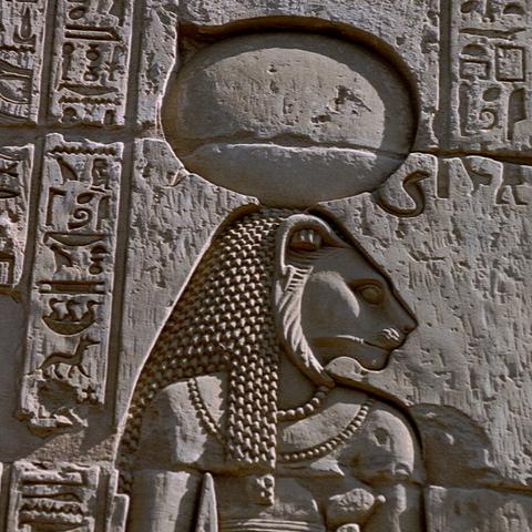 Mural real de Bastet