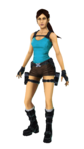 Lara Croft Relic Run Render