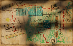 Croft Manor SOTTR Map