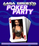 Lara Croft's Poker Party