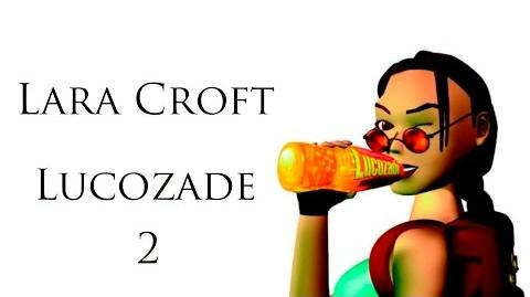 Lara Croft Lucozade Commercial 02