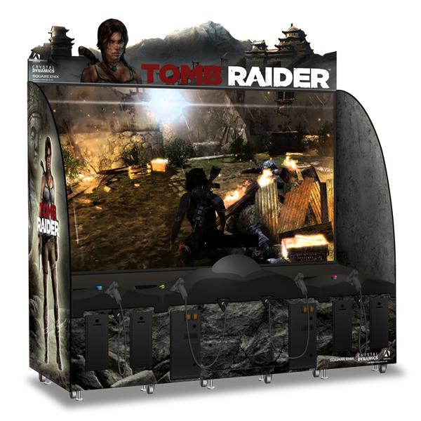 Tomb Raider Arcade Game Lara Croft Wiki Fandom