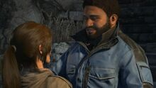 Jonah reunites with Lara