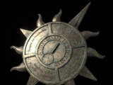 Sun Shaped Plaque