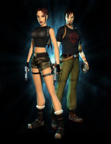 File:Lara And Kurtis Full Body.jpg