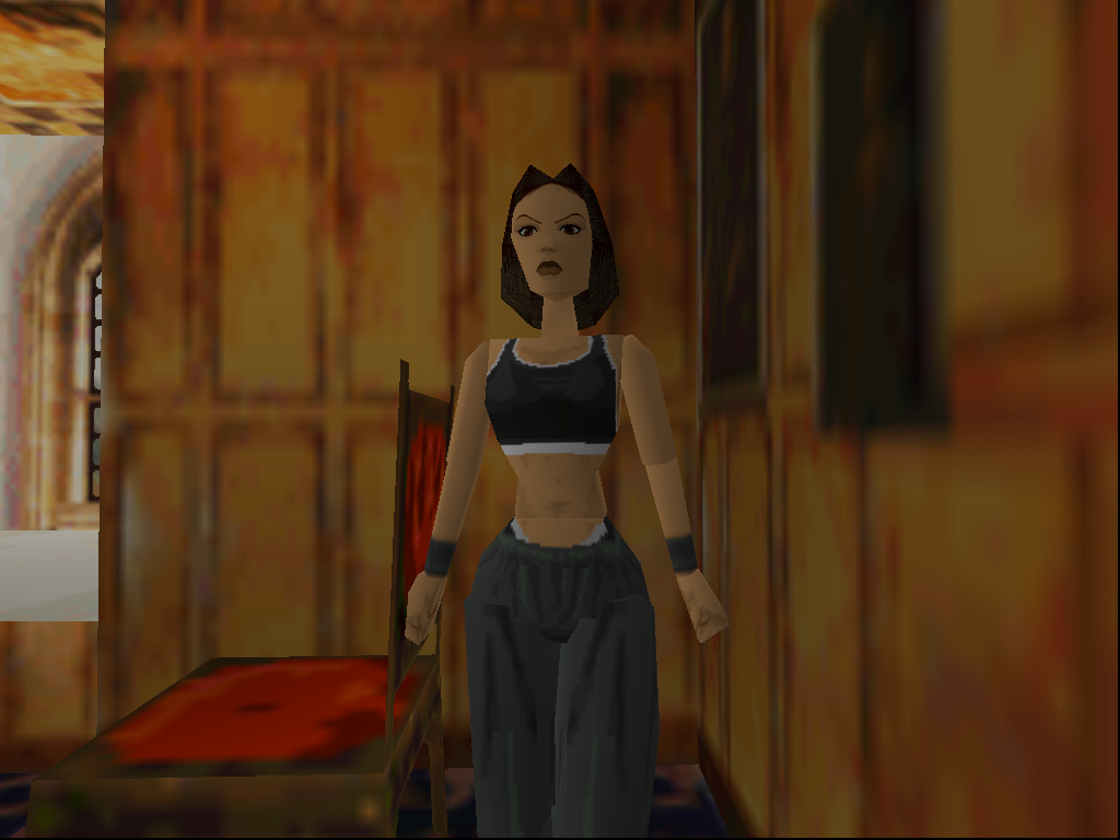 Tomb Raider 1996 Game Screenshots Lara Croft Wiki Fandom