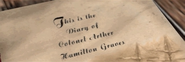 Hamilton's Diary
