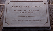 Richard Croft Grave Stone