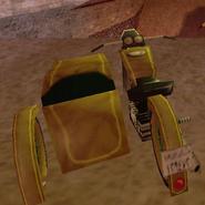 Motorbike With Sidecar