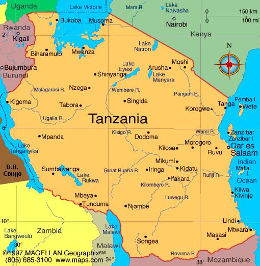 Tanzania Lara Croft Wiki FANDOM Powered By Wikia - Where is tanzania located