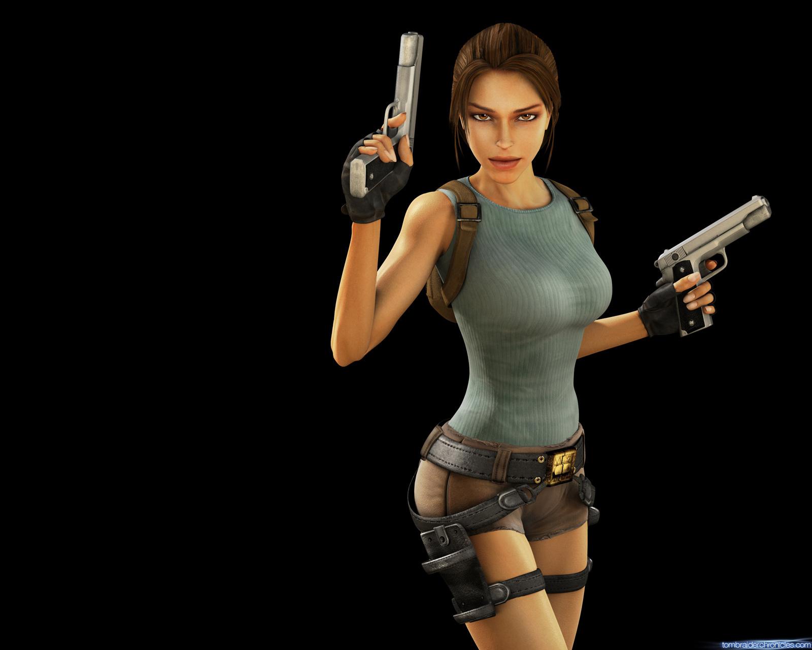 Lara croft cunt raider