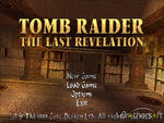Tomb Raider TLR Title Screen